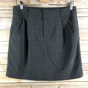 Gap Stretch Gray Mini Skirt (Bin: SK155)